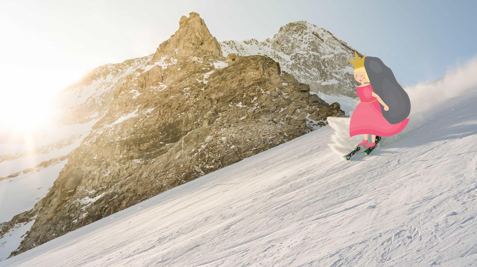 Prinzessin Hinkelstein goes Skiing 1
